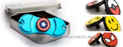 Спиннер-трансформер  кнопка в подарок голубой