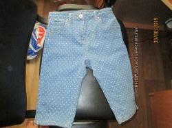 джинсовые шорты бриджи tu 8-10 лет