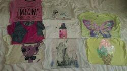 Набор фирменных футболок 9-11 лет