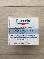 Eucerin aucva porin увлажняющий крем
