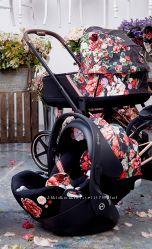 В наличии Cybex Priam 2. 0 Spring Fashion Collection Dark  Blossom