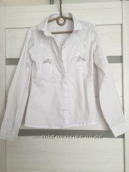 Белая рубашка, школьная