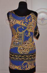 Платье яркое в стиле Версаче.  Италия . Недорого