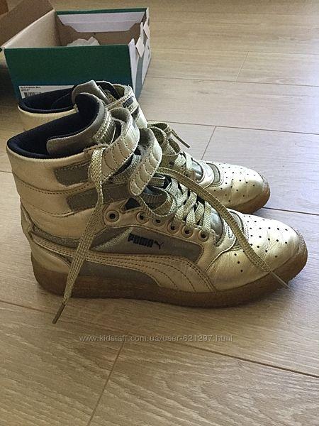 Кросівки Puma, оригінал , шкіра