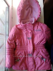 курточка для девочки зимняя