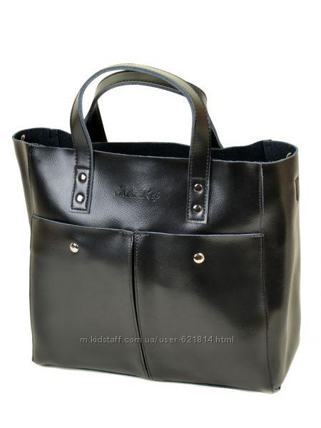 Кожаные женские сумки.