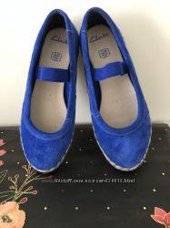 Красивенные туфли Clarks, 29 р. Состояние новых