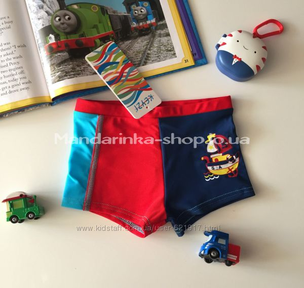 Купальные плавки и шортики Keyzi 92-164 см