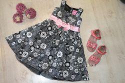 Нарядное красивое платье Barbie 4-5лет