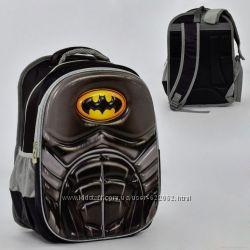 a7ee6613930f Рюкзак школьный ортопедическ 3D принт Бетмен, Человек паук, 350 грн ...
