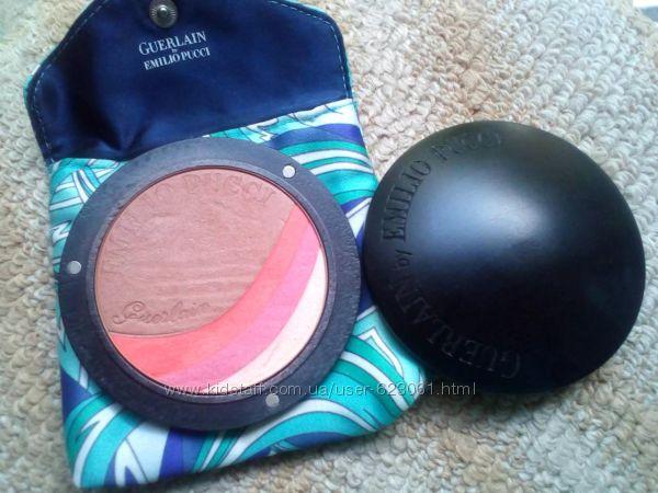 Бронзирующая пудра Guerlain Terra Azzurra Bronzing Powder & Blush Guerlain