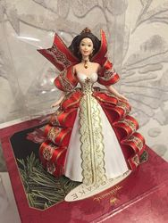 Новогодние игрушки куклы барби Hollmark
