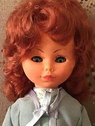 Винтажная итальяночка куколка Migliorati