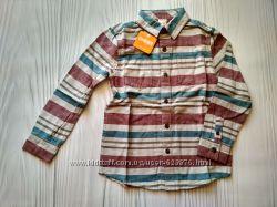 Рубашка теплая фланель Gymboree Джимбори размер S 5-6 лет хлопок из США