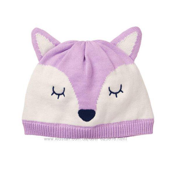 Шапка Gymboree Fox Beanie шапочка лисичка размер 2-5 лет хлопок джимбори