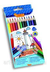 Цветные трехгранные карандаши, 12 цветов, Jovi Испания