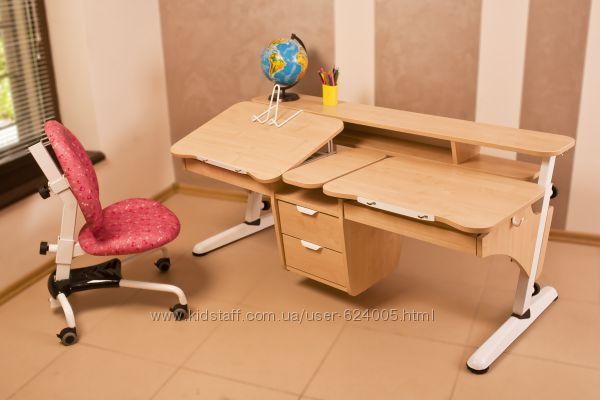 Детский стол Эргономик для двоих детей.  Скидка.