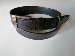 Ремень школьнику брючный узкий кожаный шир 3 см