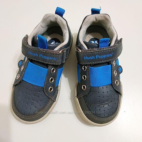 Кожаные кроссовки Hush puppies, размер 23.5-24, US 7