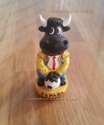 Эксклюзивная фарфоровая статуэтка денежный бык