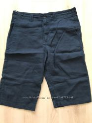 M&S Blue Harbour льняные шорты 36
