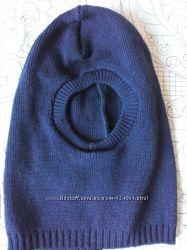 Теплая шапка-шлем