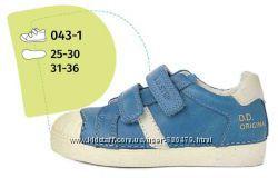 Кожаные туфли на липучке D. D. Step