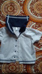 Рубашка морская, 12-18 месяцев