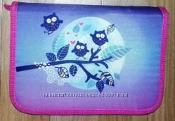 Школьный пенал-книжка Kite Owls совы