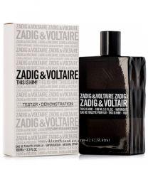 Zadig & Voltaire This is Him edt тестер оригинал 100 мл