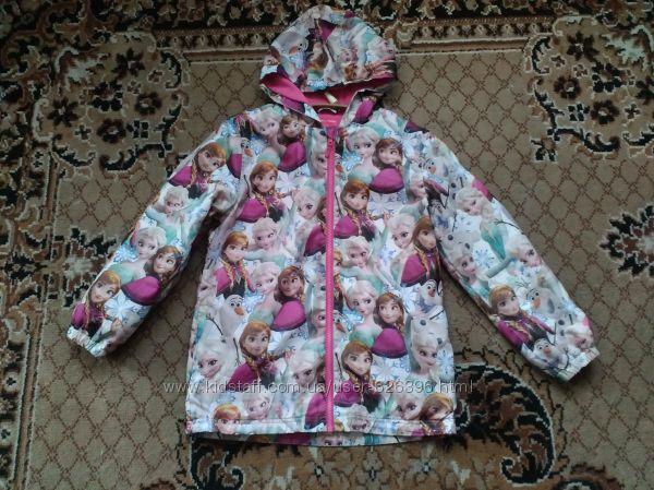 продам ветровка плащ куртка frozen