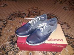 Кожаные туфли 41 размер