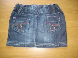 Джинсовая юбка F&F, размер 92-98