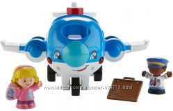 Самолет Fisher Price из серии Little People в наличии обновленный