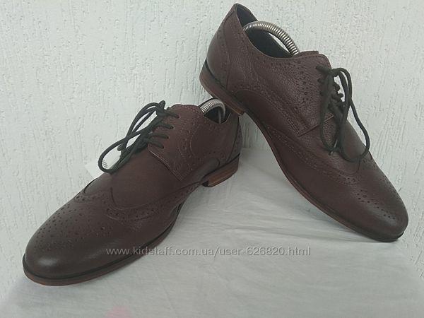 Туфли оксфорди кожанние Office London  р. 41
