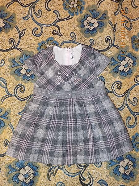 Нарядное платьице до 1 года до 80 см