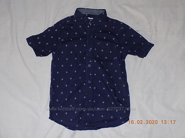 Рубашка Rebel на 7-8 лет рост 122-128см