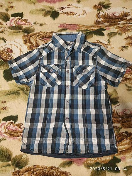 Рубашка TU на мальчика 4-6 лет, рост 104-116см