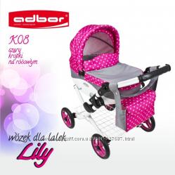 Новинка Коляска для кукол Adbor Lily