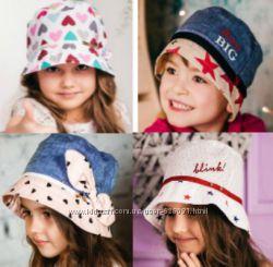 Красивые стильные панамки для девочек