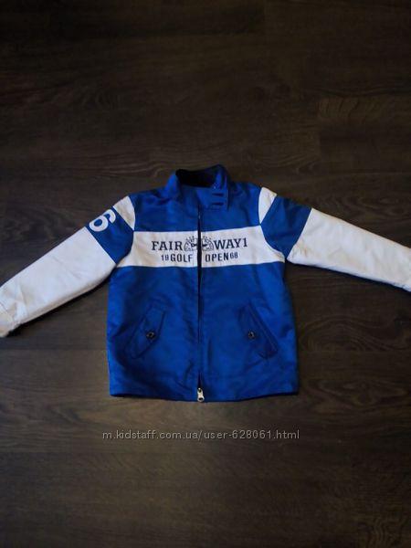 куртка бомбер chicco р. 104-110