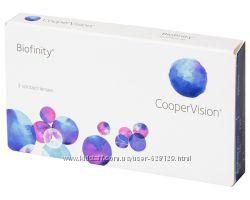 Скидки Контактные линзы Biofinity Биофинити Cooper Vision