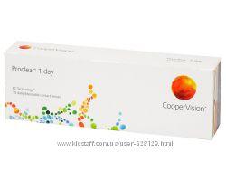 Однодневные контактные линзы Proclear 1 day  30 линз