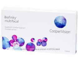 Акция контактные линзы Biofinity Multifocal