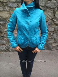 Стеганная курточка Estacot бирюзового цвета р. S-M.