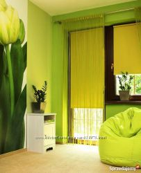 Рулонные шторы из светонепроницаемой  ткани Блекаут. Защитят от солнца