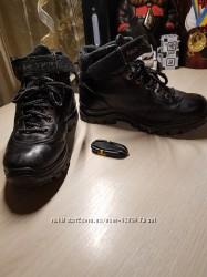 Зимние кожаные ботинки для мальчика подростка