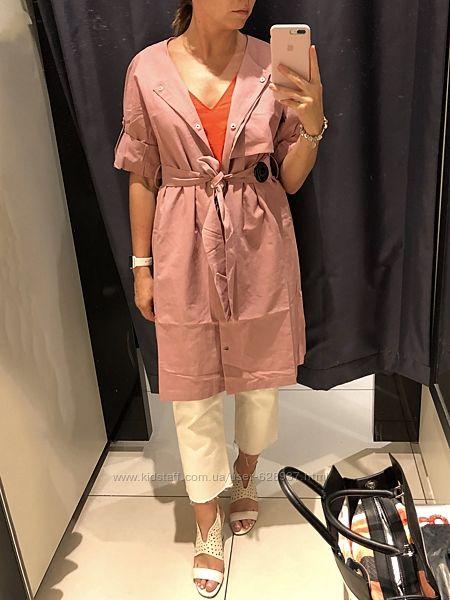 Платье / летний плащ Reserved пыльно-розового цвета S