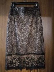 Шикарная нежная нарядная юбка Zara, S