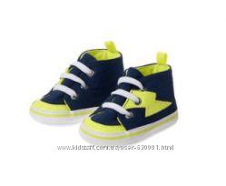 Текстильная обувь с прорезиненной подошвой на 1 год 21р.